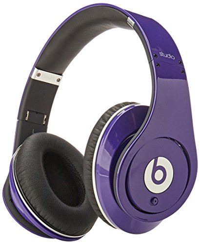 Beats by Dr. Dre Studio High-Definition Powered Isolation Headphones – Purple