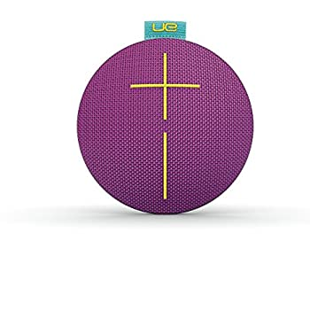 Ultimate Ears ROLL 2 Bluetooth Speaker Ultraportable with Floatie, Waterproof and Shockproof - Violet/Aqua/Yellow