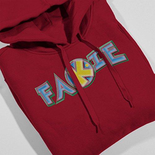 Fakie Skateboarders Women's Hooded Sweatshirt Cherry Red