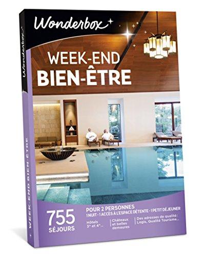 Wonderbox - Coffret cadeau couple - WEEK-END BIEN-ÊTRE - 755 séjours bien-être :...