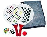 Schildkröt Funsports Beach Ball Spiele Set, rot/weiß