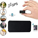 Hangang Mini GPS Tracker GPS Portatile Anti Thief Mini in Tempo Reale Anti Loss Localizzatore GPS per Bambini Wallet Bags Documenti Importanti Lost Viewfinder con App Gratuita per iOS e Android TK901