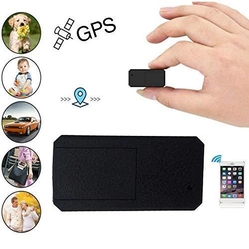 Hangang Mini GPS Tracker GPS Portatile Anti Thief Mini in Tempo Reale Anti Loss Localizzatore GPS per Bambini Wallet Bags Documenti Importanti Lost Viewfinder con App Gratuita per iOS e Android TK901
