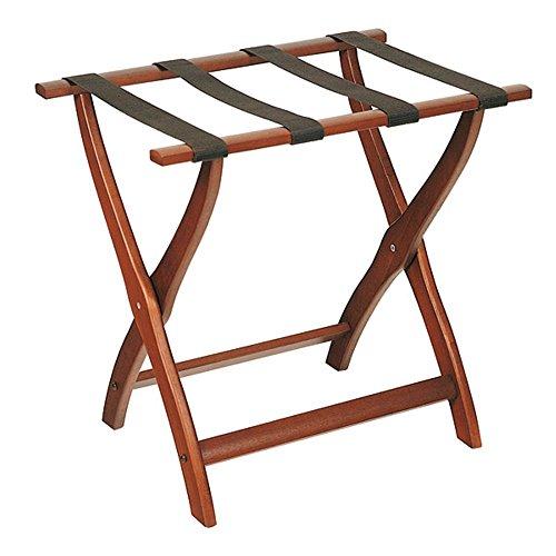 Garcia de Pou Holz Gepäckträger faltbar Ohne Rückenlehne, Holz, Walnuss, 61x 44x 60cm
