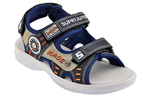 Superjump 2446 Velcro Sandali Nuovo Tg 33 Scarpe .