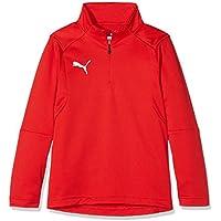 Puma 655646 01 Camiseta de Equipación, Infantil, Rojo Red White, 116