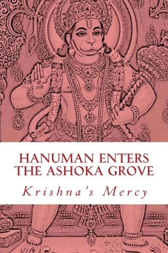 Hanuman Enters the Ashoka Grove
