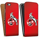 Apple iPhone 6 Tasche Schutz Hülle Walletcase Bookstyle 1. FC Köln Fanartikel Fußball