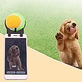 TJW Pets Selfie Stick Ball Attacco del Cane Gatto scattare Foto Formazione Giocattolo per Cane Diametro Sfera 6.5cm