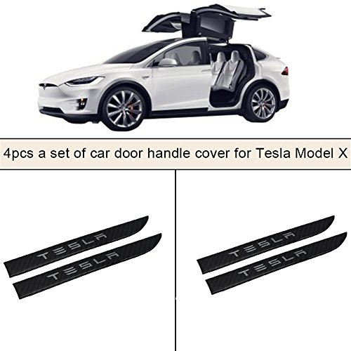 Tesla Model X Carbon Fibre Door Handle Covers