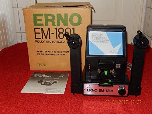 Super Spule (ERNO EM 1801 NF System mit Motor-GOKO Spüle bis 360m Super 8 & Single 8 Filmbetrachter, geprüft,Zustand: sehr gut)