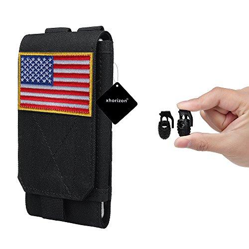 xhorizon Borsa Custodia per Accessorio Pochette Universale per Telefono Armata tactical pouch per iPhone 6/6s 6Plus 7 8 Samsung Galaxy S6 S5 S4 #5