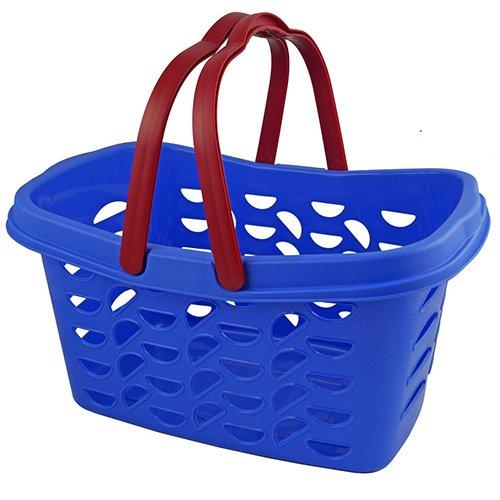 GIES 1540cesta de la compra Billy 18L en azul, plástico, 47,5x 30.5x 24cm