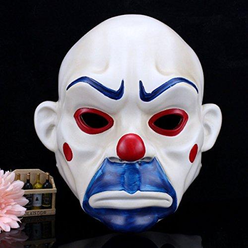 GAOQIANG Halloween Horror Cos Batman Dark Knight Stützen Robbers Masken