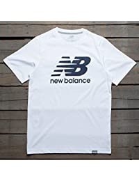 New Balance MT Classics Logo Tee White