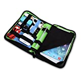 7even® Accessoire Tablet Wallet / Multi Wallet / Organizer, Case, Mappe, Tagungsmappe, Halter für iPad mini, nexus7 o.a., USB Sticks, Kabel etc