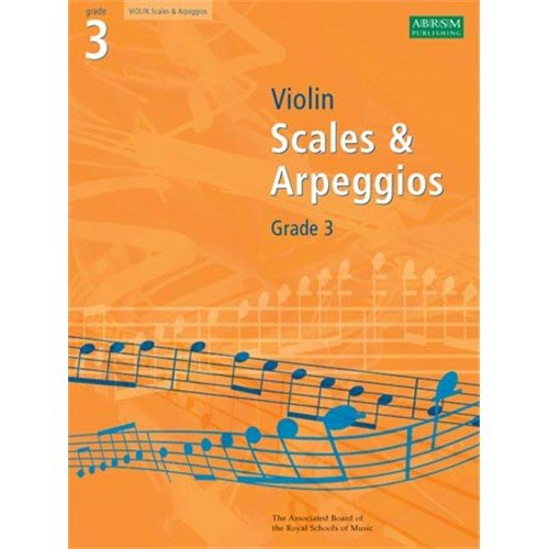 ABRSM Violin Scales And Arpeggios: Grade 3 2008-2011. Partitions pour Violon