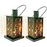[Sponsored]Nexplora Industries Decorative Lantern Tealight Candle Holder Black Set Of 2