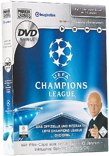 Preisvergleich Produktbild Hasbro UEFA Champions League Quiz - Das DVD-Spiel