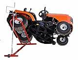 Hebevorrichtung für Aufsitzmäher 400 kg Rasentraktor Gartentraktor Mowerlifter Heber Hebebühne Reinigungshilfe Izzy Sport