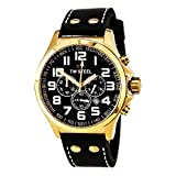TW Steel Damen-Armbanduhr XL Pilot Chronograph Quarz Leder TW-418
