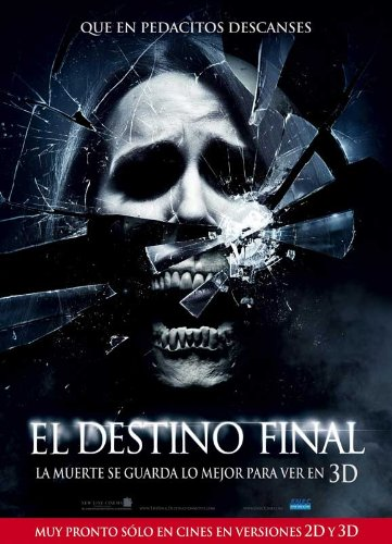 The Final Destination Plakat Movie Poster (11 x 17 Inches - 28cm x 44cm) (2009) Uruguayan