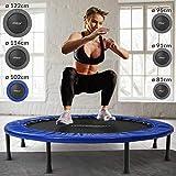 Physionics Mini trampolín en Varias tamaños - Peso máximo: 100 kg - Fitness Trampoline,...