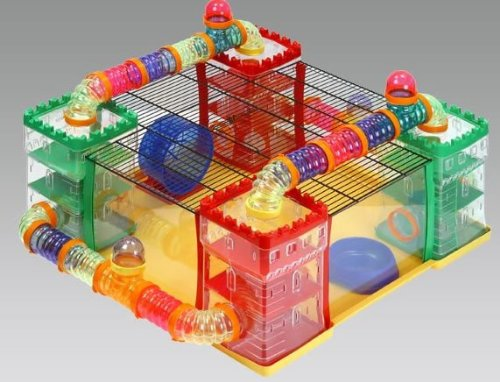 "Cage ""HamsterLand"" - Fop it"