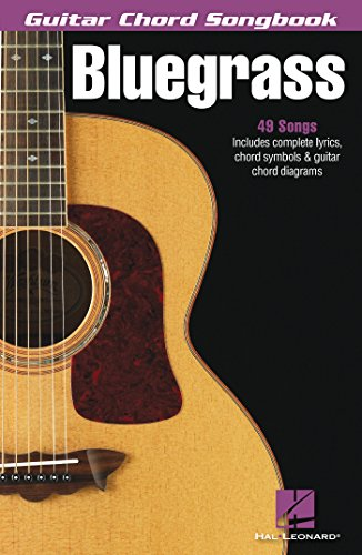 Bluegrass - Guitar Chord Songbook (English Edition)