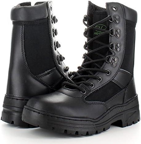Highlander - Botas para hombre negro negro, color negro, talla 35.5