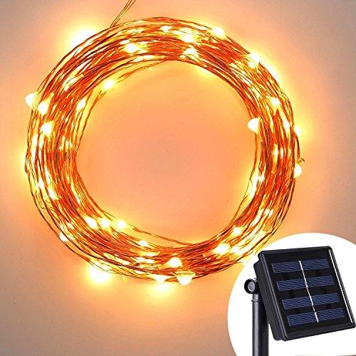 Kohree 120 LEDs Solar Lichterkette Außenlichterkette, Weihnachtsbeleuchtung für Outdoor, Garten, Haus, Weihnachtsfest, Hochzeit