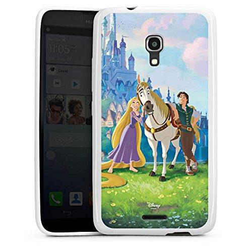 Huawei Ascend Mate 2 Hülle Silikon Case Schutz Cover Disney Rapunzel ? Neu verföhnt Merchandise Geschenke