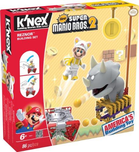 K'Nex 33131R - Bauset Super Mario Enemy Serie 1 Reznor (Knex Mario Figuren)