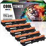 5 Pack Cool Toner Kompatibel für TN-241BK TN-241 TN-245 TN 241 242 246 Toner für Brother DCP 9022CDW Brother MFC-9332CDW MFC-9342CDW MFC 9332CDW 9330CDW Brother HL 3142CW 3152CDW