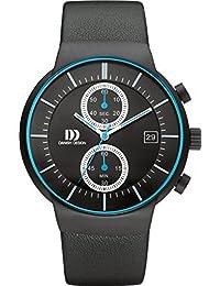 Danish Design Unisex-Armbanduhr DANISH DESIGN IQ22Q1128 Chronograph Quarz Leder IQ22Q1128