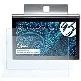 Bruni Schutzfolie für Lenovo Yoga Tablet 2 Pro (13.3 inch) Folie - 2 x glasklare Displayschutzfolie