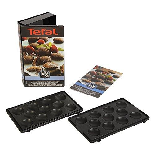 Tefal XA801212 Snack Collection Mini Bites Maker Non Stick Plates Set (Accessory)