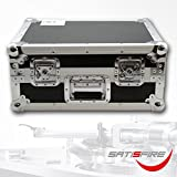 Case für Plattenspieler Turntable case TT-PRO Case solider Transportkoffer für professionelle DJ Schallplattenspieler Flight-Case aus 7mm Sperrholz universelle Größe