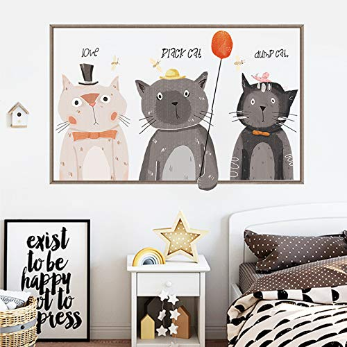 per Character Cute Cartoon Kinderzimmer Schlafzimmer Dekoration Warme Nacht Literarische Malerei ()