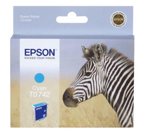 Epson T0742 Cartouche d'encre d'origine Cyan