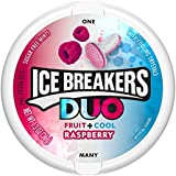 Ice Breakers Sugar-free Duo Fruit + Cool Raspberry Mints, 36g - Pack of 2