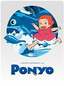 Ponyo Steelbook [Blu-ray + DVD]