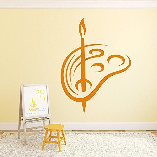 pennello-e-pallet-arte-vernice-formazione-wall-stickers-scuola-aula-art-stickers-disponibile-in-5-di
