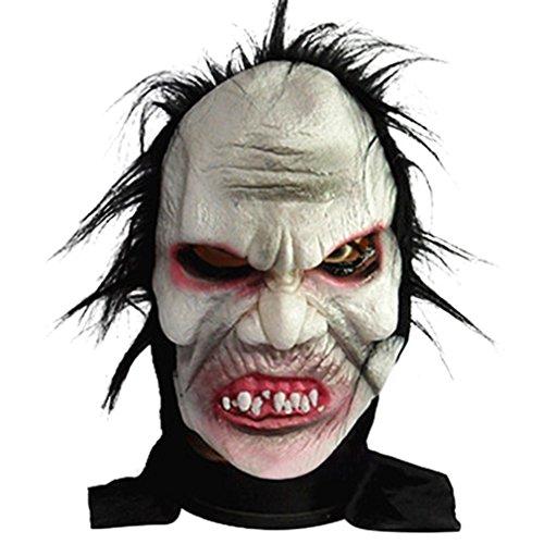 La vogue Brutal Vollmaske Zombiemaske Zombie Maske Kostüme Gruselmaske Halloweenmaske Kostüme für (Zombie Vollmaske)