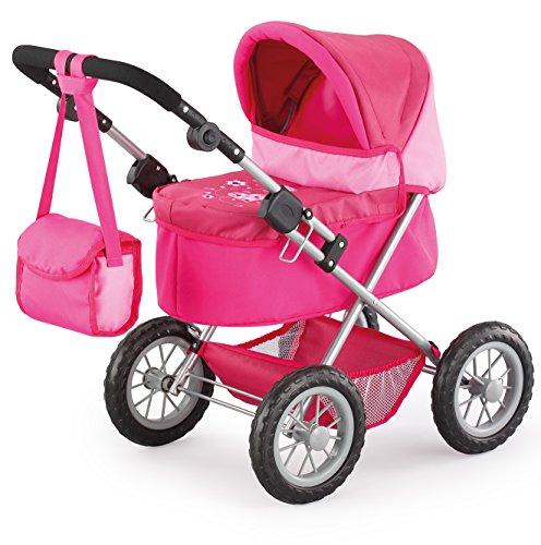 Bayer Design 1300600 - Puppenwagen Trendy, pink/rosa