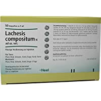 lachesis compositum n ampullen vet. 50 St preisvergleich bei billige-tabletten.eu