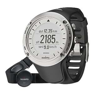 Suunto Ambit HR Silver Edition GPS Speed & Distance Outdoor Sports Watch