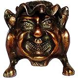 Bhunes Happy Man Styled Ashtray | Brass Ash Tray | Multipurpose Brass Item