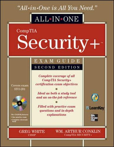 CompTIA Security+ Exam Guide, w. CD-ROM (All-In-One)