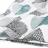 GWELL Tischdecke Eckig Abwaschbar Oxford Tischtuch Pflegeleicht Schmutzabweisend Farbe & Größe wählbar Muster-C 140 * 180cm - 6